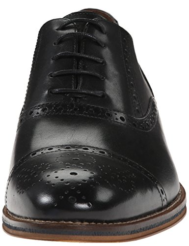 authentic for sale Johnston & Murphy Men's Conard Cap Oxford Black free shipping from china 5gIAdmpJC