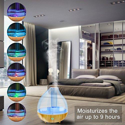 Ultrasonic Cool Mist Humidifier Aliwell 1 7l Air Humidifiers Import It All