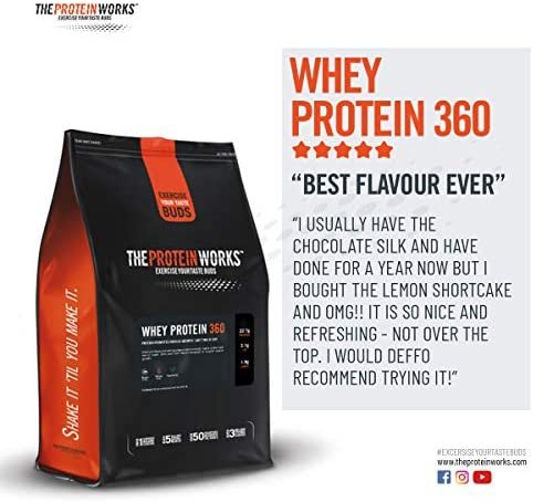 Whey Protein 360 |Combinación TRI-Proteica, Batido Alto En ...