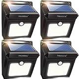 Neloodony Solar Lights Outdoor, Wireless 28 LED