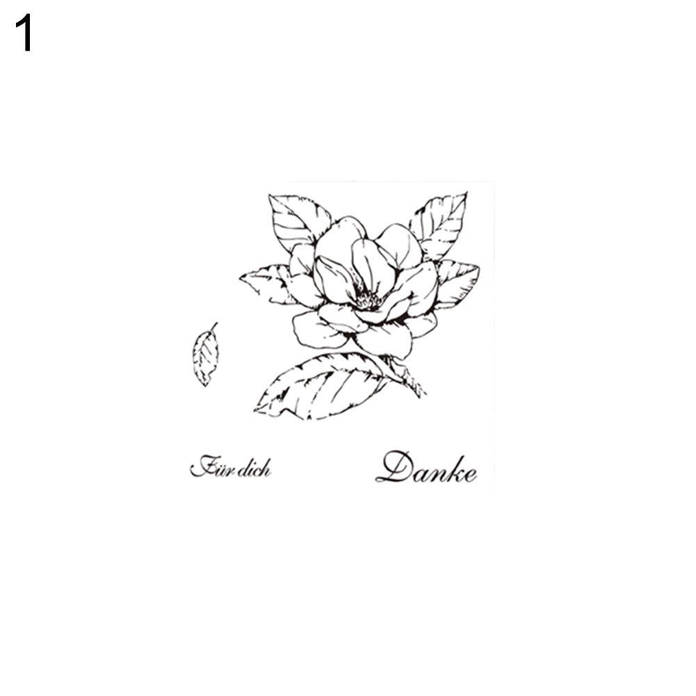 Papierkarten Metallstanzschablone mit Blumen-Motiven Album zum Basteln Scrapbooking Dekoration Cutting Die