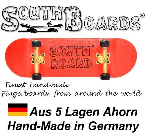 Completo Finger Skateboard RT/GO/SWZ South Boards® Handmade Wood tarjeta Real Madera