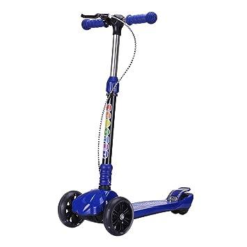 Patinetes de tres ruedas Scooter Plegable para niños con ...