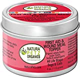 Natura Petz Organics First Aid and Wound Meal Topper for Dogs and Cats