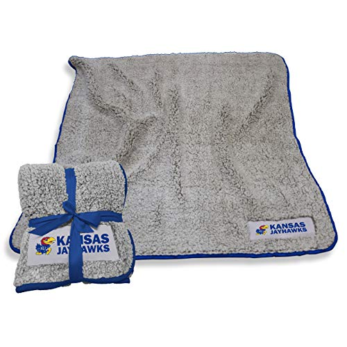 Logo Kansas Jayhawks NCAA Frosty Fleece 60 X 50 Blanket - Team ()