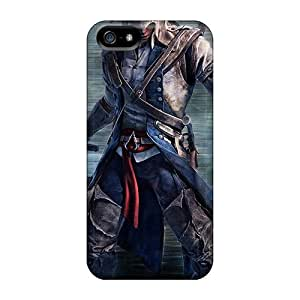 Protector Hard Cell-phone Cases For Iphone 5/5s (Pfe17461hPot) Allow Personal Design Beautiful Assassins Creed Iii Series