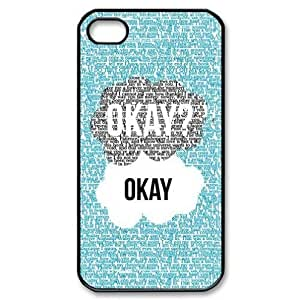 Season.C-Custom The Fault In Our Stars Back Cover Case for iPhone 6 (4.5) (Black)