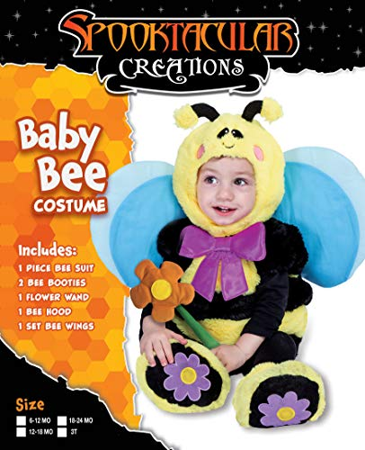 Spooktacular Creations Bumble Baby Bee Costume Deluxe Infant Set for Halloween Trick or Treating Dress Up