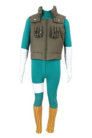 De-Cos Cosplay Costume Hidden Leaf Ninja/Shinobi Team Guy ...