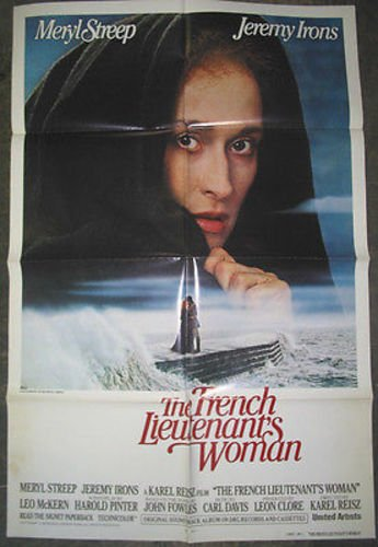 - FRENCH LIEUTENANT'S WOMAN / ORIGINAL ONE-SHEET MOVIE POSTER ( MERYL STREEP )