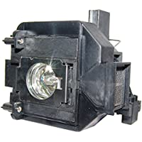 AuraBeam Professional Epson Home Cinema 5030UBe Projector Replacement Lamp with Housing (Powered by Osram)