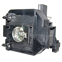 AuraBeam Professional Epson ELPLP69 Projector Replacement Lamp with Housing (Powered by Osram)