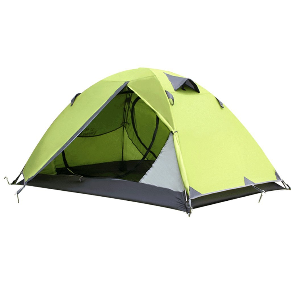 TLMY Tente extérieure familiale Camping Automatique épaissie Anti-Pluie Camping des tentes (Couleur : A)