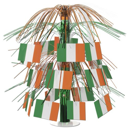 Irish Flag Cascade Centerpiece Party Accessory (1 count) (1/Pkg)