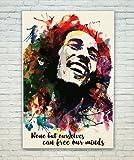 Posterskart Bob Marley Quote Art Poster