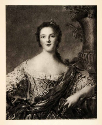 1937 Photogravure Portrait Madame Victoire Daughter Louis Fifteenth Costume - Original Photogravure