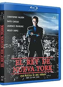 El Rey de Nueva York BD 1990 King of New York Blu-ray