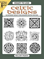 Artists and crafters who want to add the magic of Celtic design to their next project will welcome this treasury of royalty-free motifs. Graphic designer Mallory Pearce has rendered 96 different designs, in three different siz...