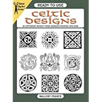 Ready-to-Use Celtic Designs: 96 Different Copyright-Free Designs Printed One Side