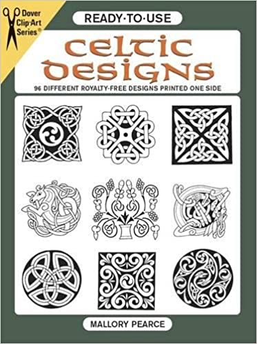 Ready-to-Use Celtic Designs: 96 Different Royalty-Free Designs ...