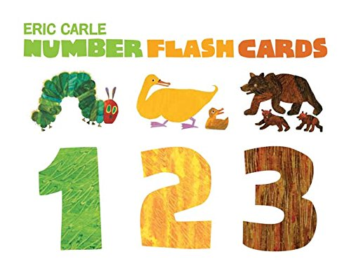 Number Flash Cards 1 2 3 (Eric -