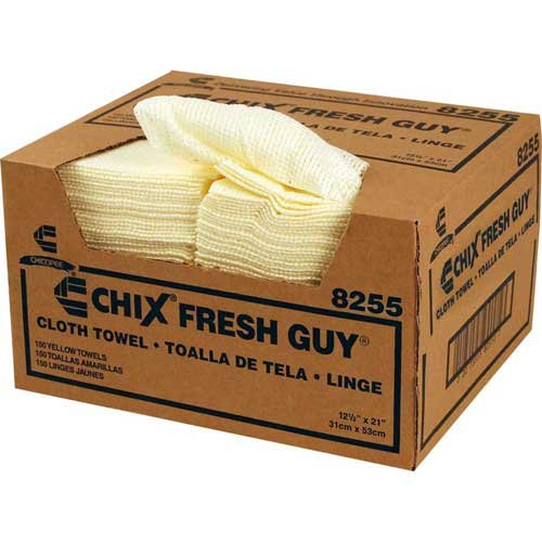 Chicopee Wipe, Industrial ClothYellow Medium-Duty Fresh Guy Towel - 150 sheets per case. (Best Clothes Stores For Guys)