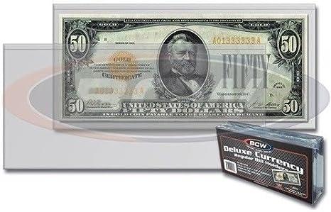 PayandPack EMICO Deluxe Solid Currency Photo Paper Slab Holder Frame for Regular Bill Dollar