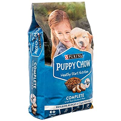 Purina New 377478 Puppy Chow 4.4Lb (4-Pack) Dog Food Wholesale Bulk Pets Dog Food Snacks