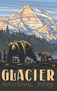 Amazon Com Northwest Art Mall 11 Quot X 17 Quot Poster Glacier