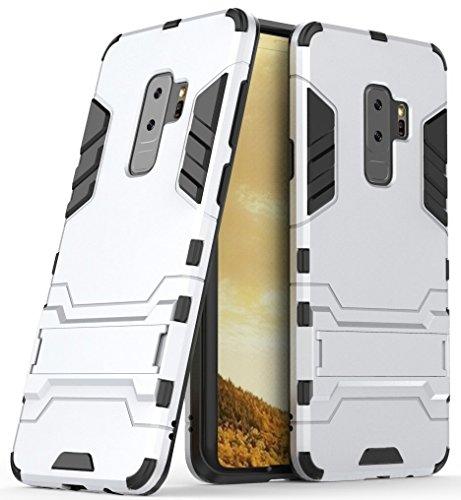 Capa para Galaxy S9, SKUDO Defender [Dual Layer][Anti Impacto ][Military Grade], Samsung Galaxy S9 (G960) - Prata