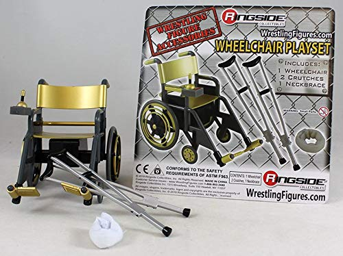 Wrestling Wheelchair Playset (Gold) - Ringside Collectibles for sale  Delivered anywhere in USA
