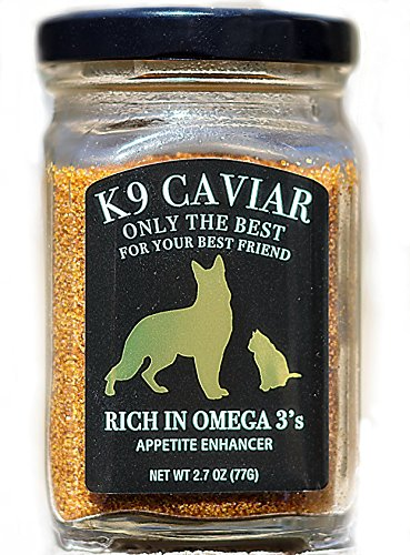Cured Caviar (Gulf Coast Caviar K9 Caviar's 's Appetite Enhancer/Omega 3 6 9 Supplement)