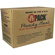 A-PACK Ready Meal 12 MRE Kit - 12 Full Meals REDUCED SODIUM - Sealed