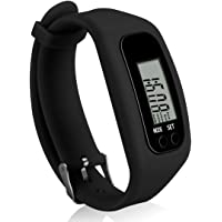 Bomxy Fitness Tracker Watch, Simply Operation Walking Running Pedometer with calorie burning and steps counting by Bomxy