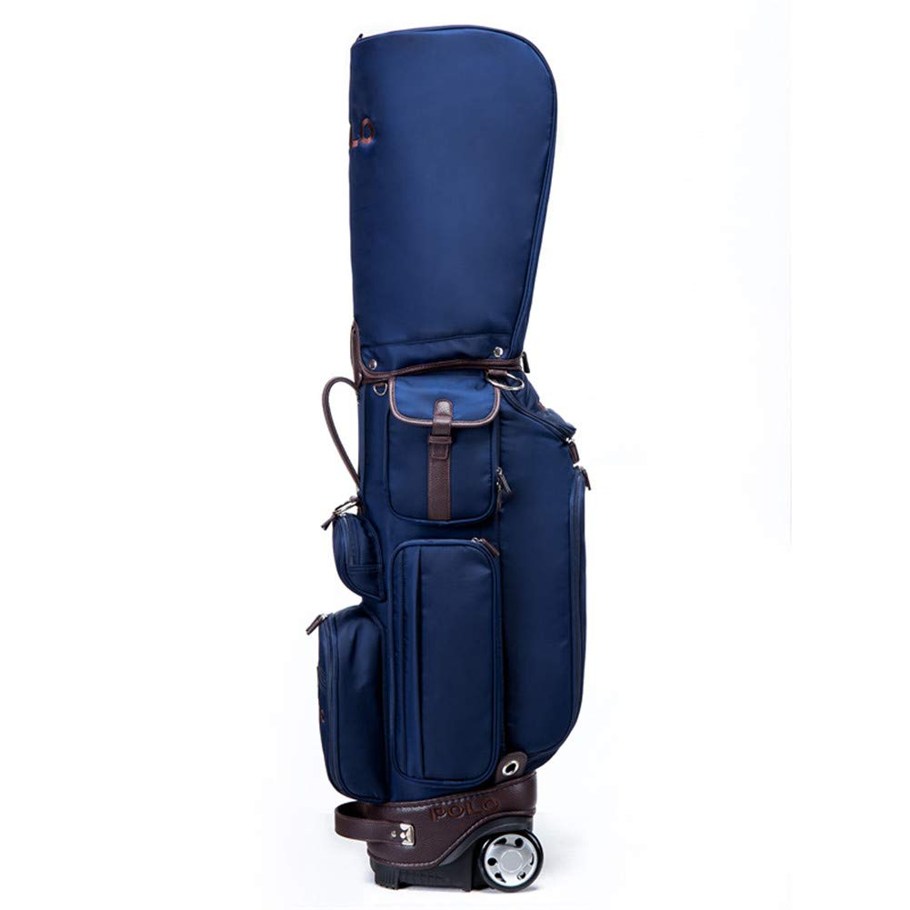 CZXXH Golf Club Bags Way Cart Trolley Bag Cart Waterproof Material and Dry Pocket Series Golf Trolley Cart Bag