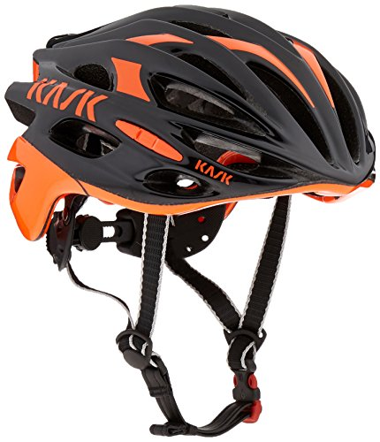 Kask Mojito Helmet, Black/Fluo Orange,