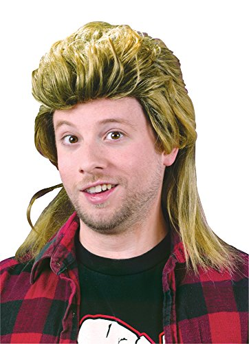[Mullet Wig Costume Accessory] (Mullet Costumes Wig)