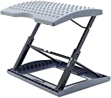 Adjustable Footrest for Home Office, Or Under Desk Ergonomic Massaging Foot Rest (Footstool) (Standard)