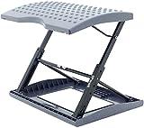 Adjustable Footrest for Home Office, Or Under Desk Ergonomic Massaging Foot Rest (Footstool) (New Standard)