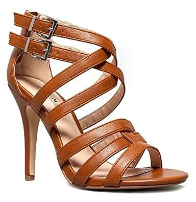 ENZO-61 Strappy High Heel Sandal
