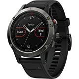 Garmin Fenix 5 Slate Gray With Black Band, One Size