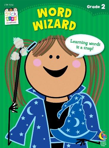 Word Wizard Stick Kids Workbook, Grade 1 (Stick Kids Workbooks)