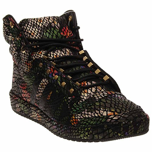 Adidas Originals Hommes Top Ten Salut Basket-ball Chaussure Noir / Floral