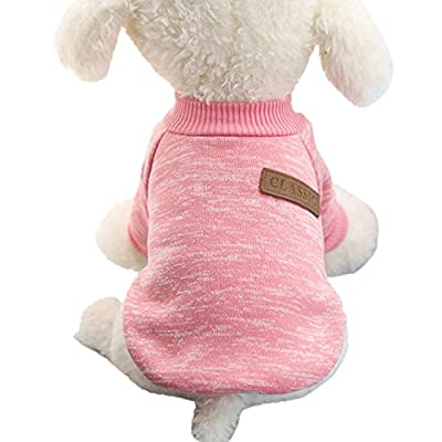 Pet Clothes for Small Dog Girl Dog Boy Soft Warm Fleece Clothing Winter