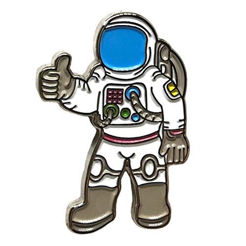 Astronaut Journey Space Lapel Pin