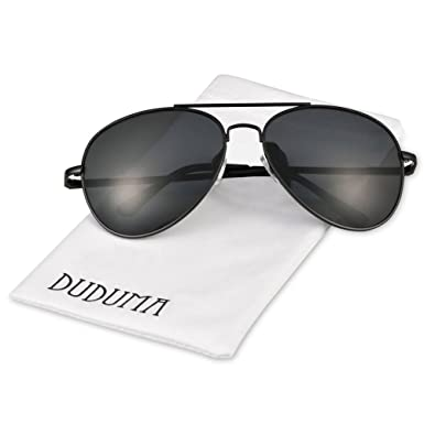 aviator frame glasses  Amazon.com: Duduma Premium Classic Aviator Sunglasses with Metal ...