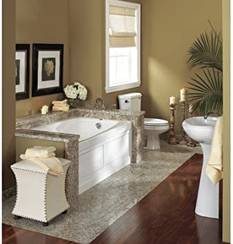 Cetra 60 X 32 Whirlpool Bathtub Color White Recessed Bathtubs Amazon Com