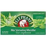 Elephant Infusion Verveine Menthe Bio x25 Sachets 33g - Lot de 3