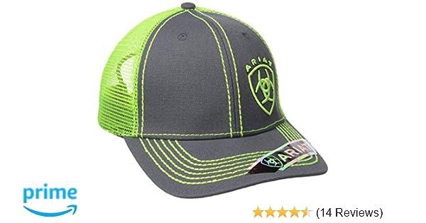 62aea433ab8fe ARIAT Men s Jim Cap Lime Size One Size at Amazon Men s Clothing store