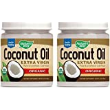 Nature's Way Organic Extra Virgin Coconut Oil, 32 Ounce (Pack of 2)